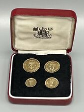More details for 1965 silver maundy money 4 coin set boxed - canterbury
