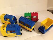 LEGO Duplo Mega Schienenset + Eisenbahnbrücke (3774) Loks Weichen uvm