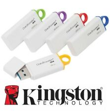 PENDRIVE G4 USB 3.1 KINGSTON CHIAVETTA 8-16GB-32GB-64GB-128GB MEMORIA 3.0 PENNA