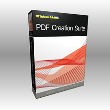 PDF Creator Converter PRO with Adobe Acrobat Reader 10 On CD
