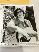Maureen Scanlon 8 x 10 Autograph Photo Musician Rare 1981