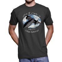 SR-71 Blackbird Air Supremacy Men`s Dark T-Shirt