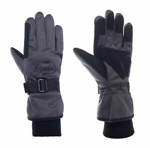 Promotion Winter Gloves Padded With PU Leather IN The Palm Size 6-9
