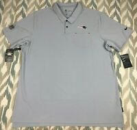 Nike NFL NE Patriots OnField Mens Early Season Coaches Polo Golf/Office Size 2XL