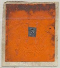 Great Britain King George Iii Embossed 5 Sh Stamp Tax Revenue w. Cipher