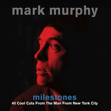 Mark Murphy MILESTONES Best Of 40 Cool Cuts ESSENTIAL SONGS New Sealed 2 CD