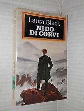 NIDO DI CORVI Laura Black Rita Botter Pierangeli Mondadori 1981 libro romanzo di