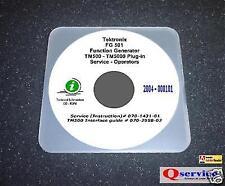Tektronix Tek Fg501 Fg 501 Fg 501 Service Oprs Manual