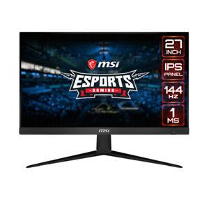 """Gaming-Monitor MSI Optix G271 27"""" Full HD IPS 144 Hz Schwarz"""
