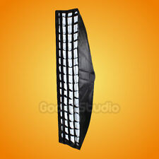 "Godox Strip Beehive Softbox 35x160cm 14""x63"" w/ Honeycomb Grid Bowens Mount"