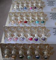 Anhänger Engel Gastgeschenk für Tischkarte Hochzeit Taufe Kommunion Farbwahl