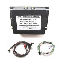 Multimedia Adapter Interface Mercedes Comand 2.0 AV RFK Rückfahrkamera Eingang