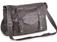 AEROPOSTALE Aero Faux Leather Messenger Bag Shoulder Handbag Purse NEW NWT