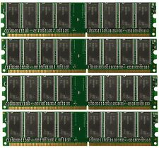 4GB 4x1GB PC3200 DDR400 400Mhz 184pin DIMM Desktop Memory DDR High Density