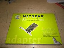 Netgear FA311 fast ethernet 10/100 pci card used cib