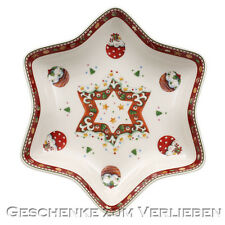 Villeroy & Boch Winter Bakery Delight Sternschale mit Stern 24,5 cm 3778