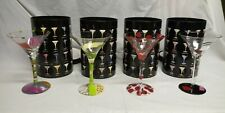 Lolita The Martini Collection:Appletini CherryBomb,Flirtini,Cosmpolitan LOT OF 4