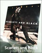 SCARLETT AND BLACK (You Don't Know) USA press vinyl record plaka