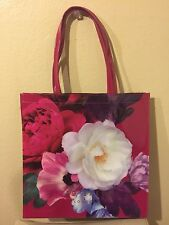 Ted Baker London  Large Icon Rose print floral Tote Bag NEW