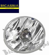 9033 - FARO FANALE ANTERIORE IN PLASTICA ALOGENO VESPA 125 150 200 PX A DISCO