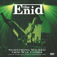 Something Wicked This Way Comes Live at Claret 5013929168732 by Enid CD