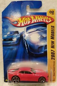 Hot Wheels 2007 New Models 1/64 Diecast 2007 Chevy Camaro Concept Red  NEW