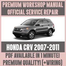 Car service repair manuals ebay or best offer workshop manual service repair guide for honda crv 2007 2011 wiring fandeluxe Choice Image