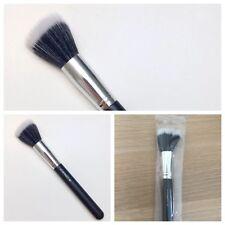 Mac 187 Duo de fibra de tacto suave Stipple Maquillaje Cepillo para base Bronceador En Polvo