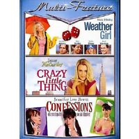 DVD - Comedy - Weather Girl - Crazy Little Thing - Confessions - Jenny McCarthy