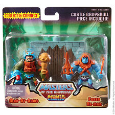 Mini MOTU No. 4  MAN AT ARMS vs. FAKER Masters of the Universe Classics NEU&OVP