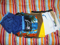 12x vintage 80s Tennis Shorts Nylon hawaii crane oldschool sport hose S-XL