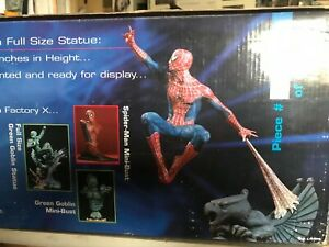 """Spider-Man Factory X 14"""" Statue - limited edition #1852 / 2500"""