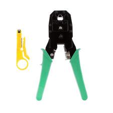 Ethernet Network Cable Crimp Plug Tool LAN Crimper Pliers Cat5e Cat6