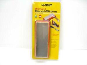 Lansky LDB6E Extra Fine Diamond Bench Stone Knife Sharpener Sharpening Tool