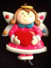Christmas Angel Fairy Decoration Salt Dough Saltdough Bauble, Xmas Tree Ornament