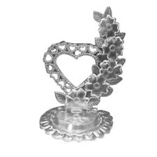 Clear Cake top stand accessories plastic heart