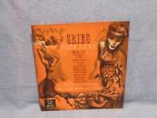 GREIG- PEER GYNT SUITE No 1, Suite No 2; CLASSICAL MUSIC LP RECORD;