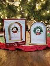 HOWARD MILLER CAROLS OF CHRISTMAS II CLOCK MUSICAL PLAYS AT THE TOP OF HOUR