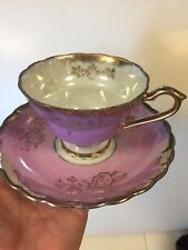 Vintage Betson's Japan PINK LUSTRE Cup & Saucer So Pretty