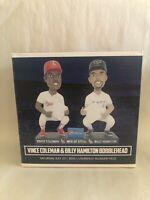Vince Coleman / Billy Hamilton Men Of Steal Bobblehead - SGA (Reds / Cardinals)