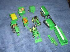 John Deere Die Cast Farming Tractor Parts Lot Ertl