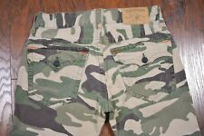 True Religion Straight Flap Camo Pants Men's 34x32