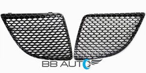 NEW Front Bumper Mesh Grilles Set RH & LH Black for 2004-2008 Pontiac Grand Prix