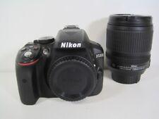 """Nikon d5300 [24,2mp, Full HD, 3,2""""] Noir Incl. AF-S DX 18-105 mm 1:3,5-5,6g G"""