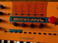 Waldorf Microwave ll XT XTK (Super Enhanced Black) LUX PMVA LED Display !
