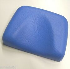 Poggiatesta in gomma colore blu per lettini abbronzanti solarium estetica