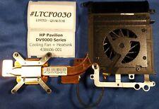 #LTCF0030 - HP Pavilion DV9000 Series CPU Cooling Fan + Heatsink 438606-001