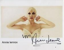 Annie Lennox Signed 8 x 10 Photo Genuine In Person