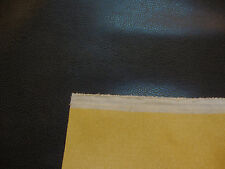 Leather Bonded Leather Black Recycled Eco-Friendly Upholstery Faux Leather yard