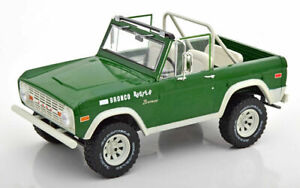 Ford Bronco Buster grün (Smokey and the Bandit) 1970 - 1:18 Greenligth